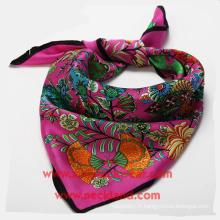 Cravates de dames d'impression faite sur commande d'usine d'écharpe en soie