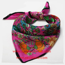 Silk Scarf Factory Custom Printing Ladies Cravats