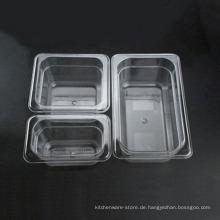 Gastronorm Pan GN aus hochwertigem Kunststoff Gastronorm Box aus transparentem Polycarbonat
