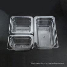 High Quality plastic Gastronorm Pan GN High Quality Polycarbonate transparent Gastronorm Box