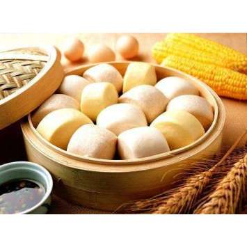 dough food 20g/piece Eggs and Milk Steamed Bread