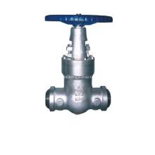 Válvula de compuerta de sello de presión acero fundido