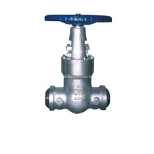 Válvula de porta de selo de pressão aço fundido