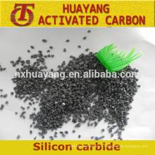 Carburo de silicio negro de alta pureza para abrasivos y refractarios