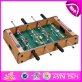 2014 New Wooden Table Foodball Toy for Kids, Wood Table Football Soccer Table, Wooden Toy Table Football for Children Factory W11A026