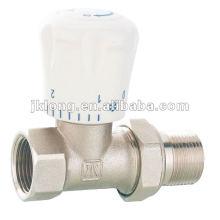 J3001 Válvula de ângulo de radiador, válvula termostática
