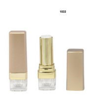 Pretty Square Gold Lipstick Tube Empty