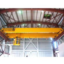 Lightweight 5 to 32T Double-beam Bridge Crane with Electric Hoist, Superior Safety and Reliability