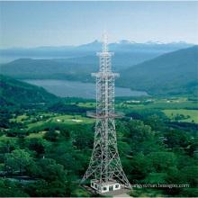 35m 500kv Electric Power Transmission Steeltower Pole Tower