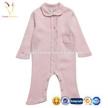 Baby True Knit Strampler Pullover Design