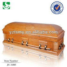 Well carving simple style premium wooden casket price