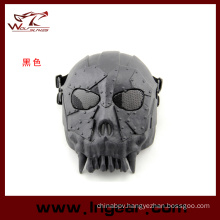 DC-01 Troop Skull Tactical Mask Half Face Mask for Airsoft