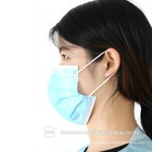 Máscara facial desechable no tejida para adulto