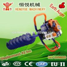 42.5cc HY-DR620 hielo taladro máquina aprobado CE hielo taladro máquina de tierra máquina de perforación