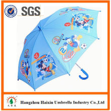 Professional Auto Open Cute Printing kids toy umbrella