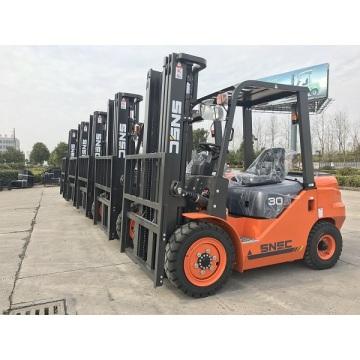 Chariot élévateur diesel Carretilla Elevadora 3 tonnes