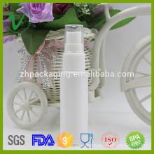 Botella plástica vacía del reactivo de la medicina líquida al por mayor de 50ml con el pulverizador de la bomba