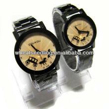 Meilleur montres promotionnelles à la mode, montres bon marché pour couple JW-39