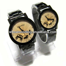 Melhores relógios promocionais de dom promocionais, relógio barato conjunto para casal JW-39