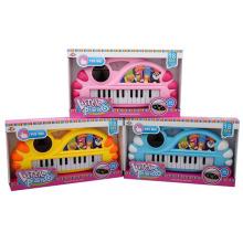 La tecla de instrumentos musicales para piano puede volver a la canción Juguete musical con luz (10223303)