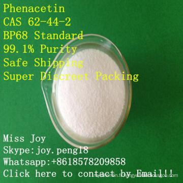 Phenaceti Bp68 haute pureté Phenacet api API douleur et la drogue Phenace poudre de drogue