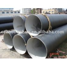 Korrosionsschutzrohr / 3pe Rohr / 2pe Rohr / einlagige PBE Beschichtung / Flüssigkeit Rohrleitung
