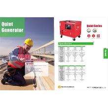3kw 5kw portable diesel generator waterproof