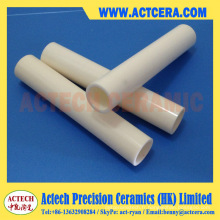 Usinage de Tube de Al2O3/99.5% alumine de haute pureté en céramique à 99 %