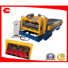 Colored Metal Glazed Tile Roll Forming Machine