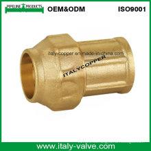 Enchufe de cobre amarillo de calidad superior de la compresión de la compresión hembra (IC-7002)