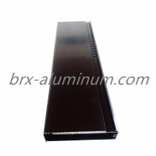 Black Anodized Aluminum Alloy Window Door Frame