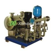 Abastecimiento de agua sin presión Negtive