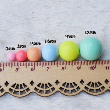 High Quality Colored Acrylic Bead For DIY