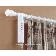 Remote Control Electric Curtain Track System Dua Track For Double Opening Window Curtain Motor
