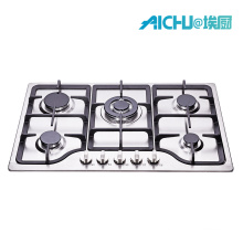 5 Burner Cast Iron  Gas Stove