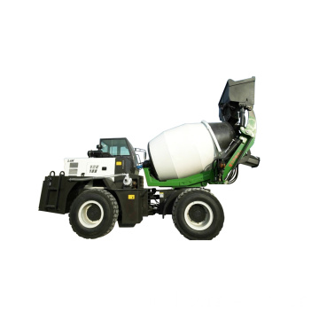 Self Loading Mini Truck Concrete Mixer Dijual