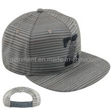 Ocio de pantalla de impresión plana Bill Snapback Cap Hat (TMFL6431)