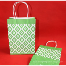 In stock kraft paper gift bag