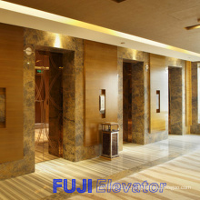 FUJI Passenger Elevator with Hairline Stainless Steel