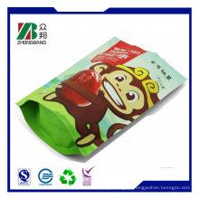 Stehen Sie auf Beutel-Beutel-freie Plastikverpackungs-Beutel für Nahrung