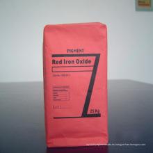 Óxido de hierro pigmento rojo para ladrillos