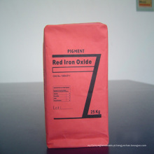 Pigmento de óxido de ferro vermelho para tijolos