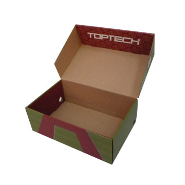 Boîte de conditionnement de chaussures en papier (FP5092)