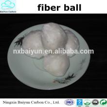 Bola de fibra de alta calidad / filtro de bola de fibra