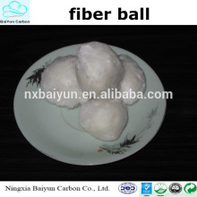 High quality fiber ball/ Fiber Ball filter