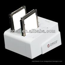 2bay 2.5 / 3.5 pulgadas SATA HDD estación de acoplamiento
