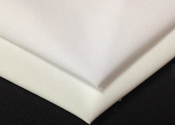 polycotton 180TC white hotel fabric