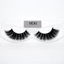 Free Samples Natural Magnetic 3D Mink Lashes Private Label 3D/5D 25mm Eyelashes