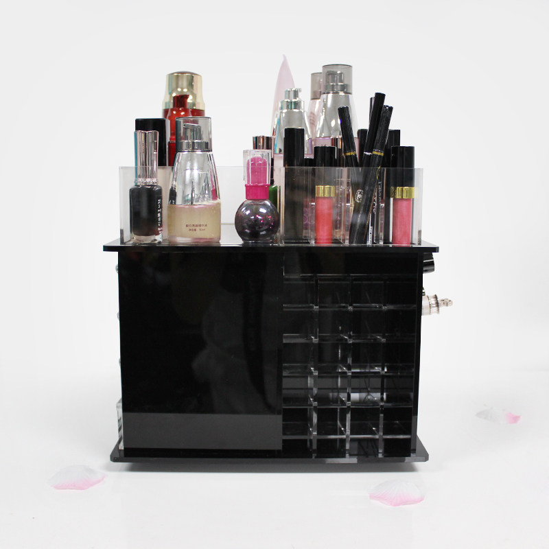 Black Cosmetic Organizer
