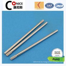 ISO Factory CNC mecanizado tema de precisión de eje